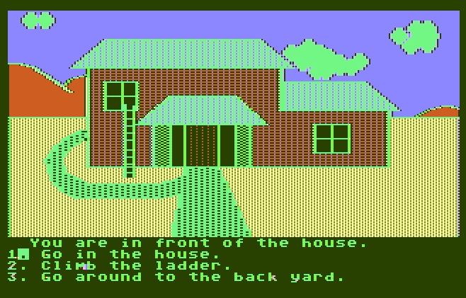 Choose Your Own Adventure Compute Graphic Screenshot